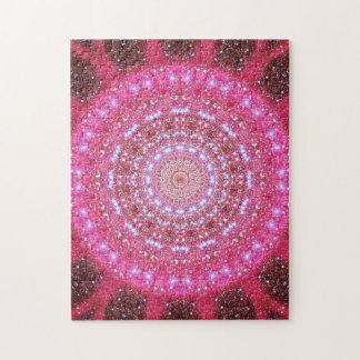 Star Cluster Mandala Jigsaw Puzzle