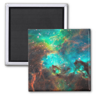 Star Cluster NGC 2074 Square Magnet