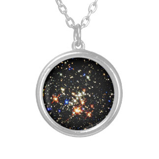 STAR CLUSTER outer space design Necklaces