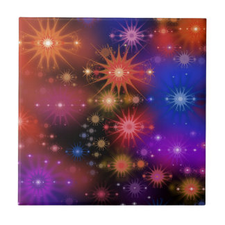Star Clusters Ceramic Tiles