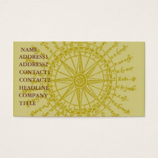 STAR COMPASS DESIGN BUSINESS/PROFILE CARD