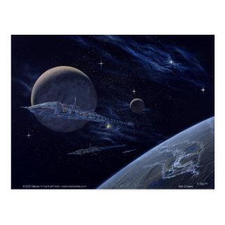 Star Cruisers Postcard