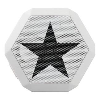 Star / Custom Boombot REX, White White Bluetooth Speaker