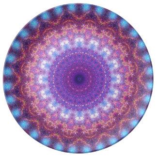Star Dance Mandala Porcelain Plates