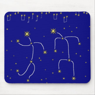 Star Dance Mouse Pad