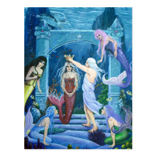 Star Dancer-The Crowning of Ariel by Lori Karels Postcard