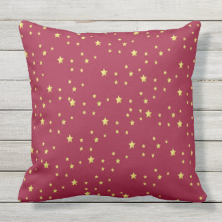 star design throw pillow