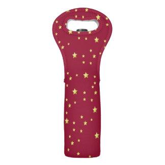 star design wine bag