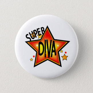 Star Diva Pin Back Button