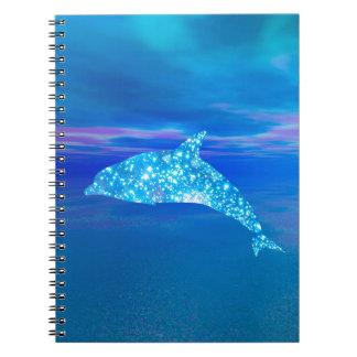 Star Dolphin Notebook