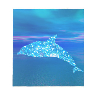 Star Dolphin Notepad