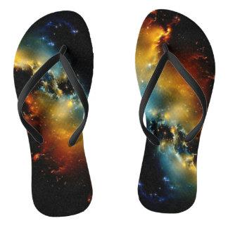Star Dust Flip Flops