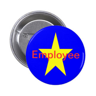 Star Employee 2 Inch Round Button