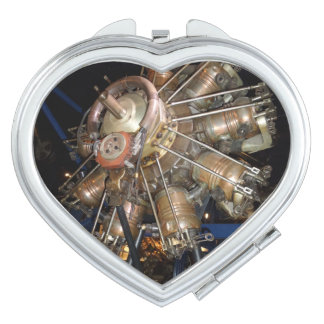 Star Engine Heart Compact Mirror