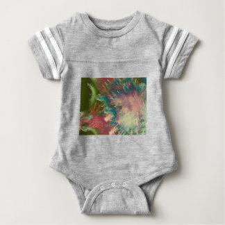 Star explode baby bodysuit