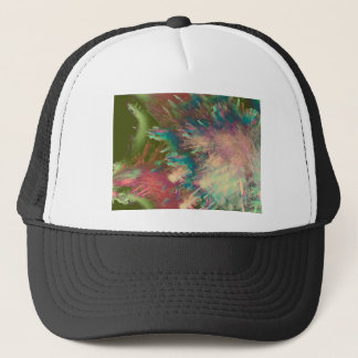 Star explode trucker hat