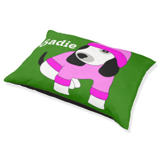 Star eye girl cute puppy dog pet pillow bed