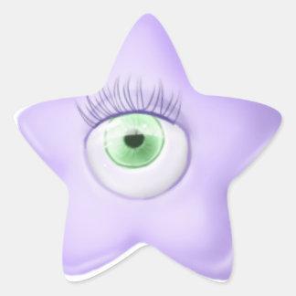 Star Eye Sticker