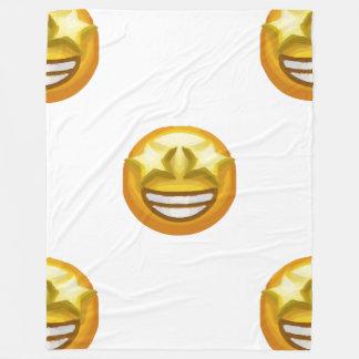 star eyes emoji blanket