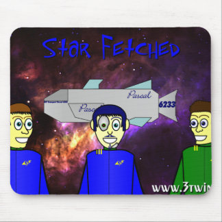 Star Fetched Mouse Pad
