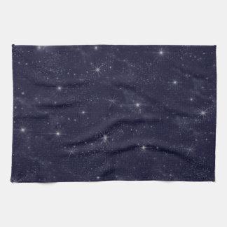 Star Filled Blue Sky Vast Universe Towel