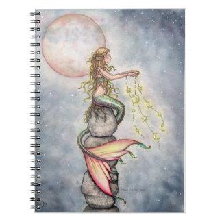 Star Filled Sky Mermaid Notebook