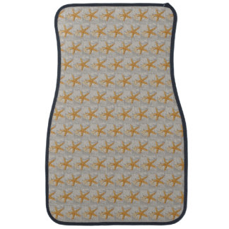 Star Fish at the Beach Car Mat