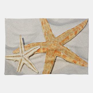 Star Fish at the Beach Kitchen Towel
