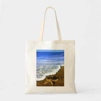 Star fish on the beach bags