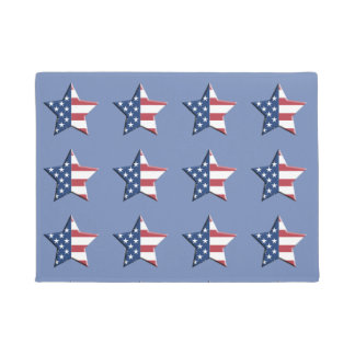 STAR FLAG DOORMAT