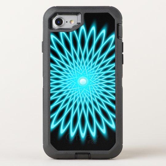 Star Flower Mandala OtterBox Defender iPhone 7 Case