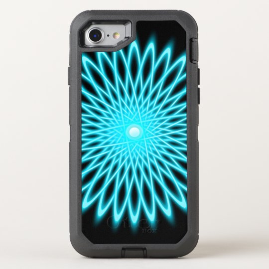 Star Flower Mandala OtterBox Defender iPhone 8/7 Case