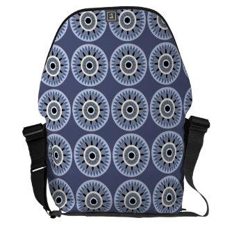 star flower messenger messenger bag