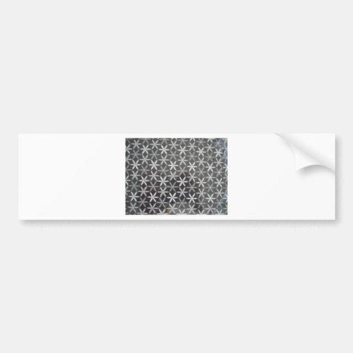 Star Flowers Bumper Stickers