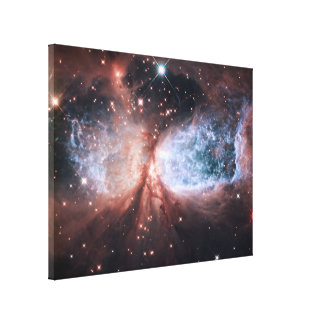 Star Forming Stretched Canvas Print