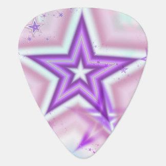 Star Fractal Guitar Pick