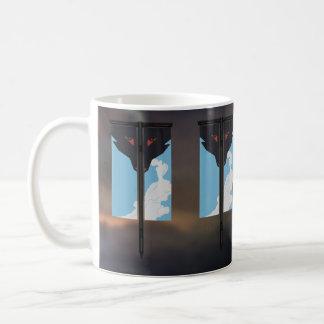 star friends vape wolf banner coffee mug