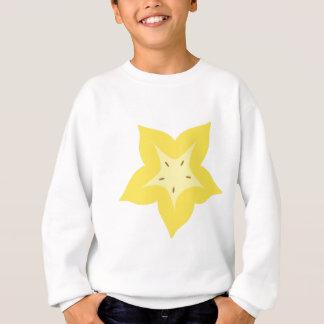 star fruit design cute sweatshirt