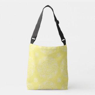 Star Fruit Mandala Crossbody Bag