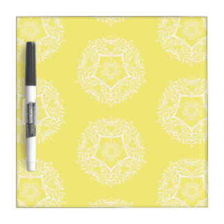 Star Fruit Mandala Dry Erase Board
