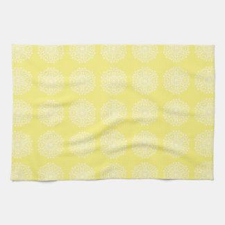Star Fruit Mandala Kitchen Towel