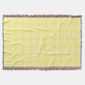 Star Fruit Mandala Throw Blanket