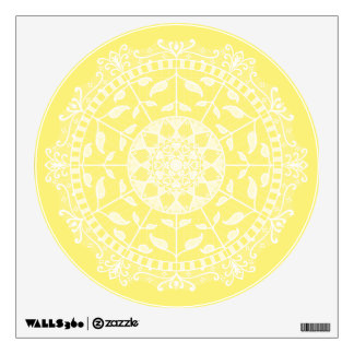 Star Fruit Mandala Wall Sticker