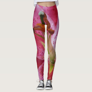 Star Gazer Lily Custom Leggings