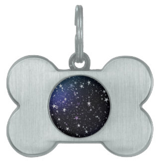 Star Gazer Nature Sky Space Peace Love Destiny Pet Name Tag