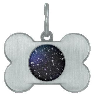 Star Gazer Nature Sky Space Peace Love Destiny Pet Tag