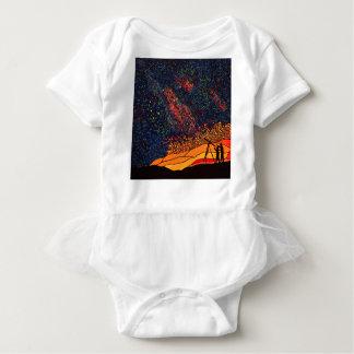 Star gazing baby bodysuit