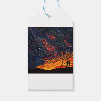 Star gazing gift tags
