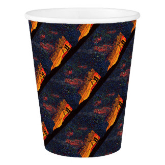Star gazing paper cup