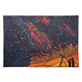 Star gazing placemat